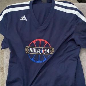 Adidas NOLA 14 Shirt. NBA All-Star Game